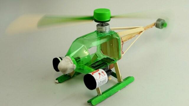 Làm máy bay bằng chai nhựa